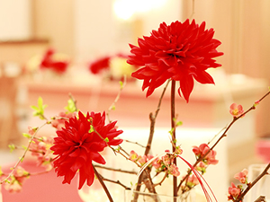 和モダン 装花
