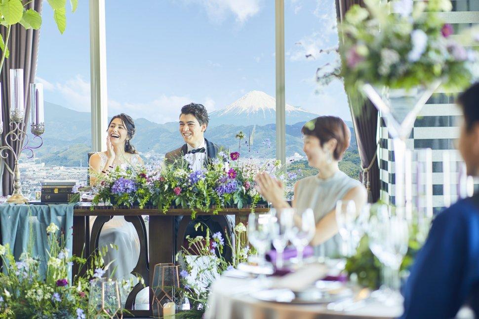グランディエール 葵タワー 結婚式 静岡